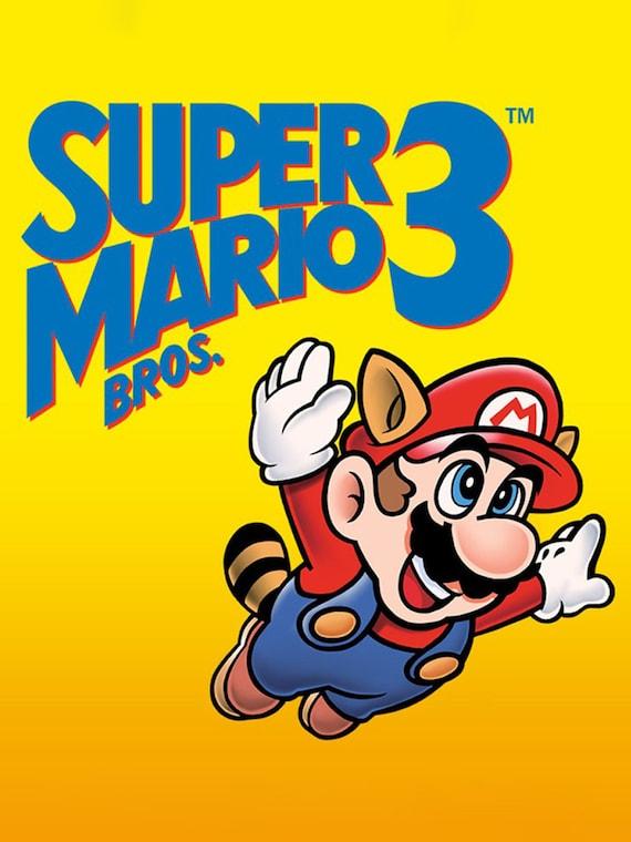 Super Mario Bros 3 Banner Etsy