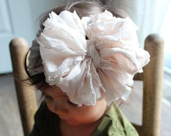 mini messy bow messy bow messy head wrap messy bow headband messy bow head wrap pink messy bow Stars /& Stripes messy bow head wrap