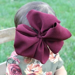 hair bows White Swim messy bow,messy headband,messy bow head wrap baby bow messy bow