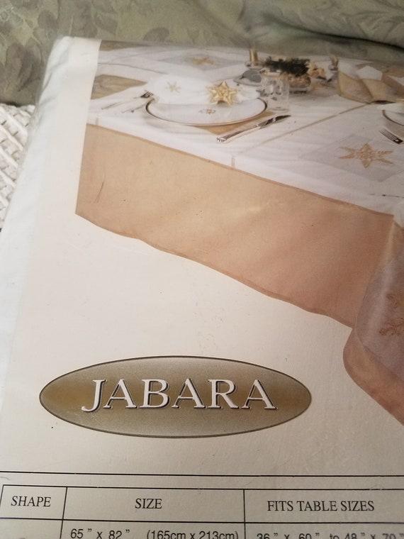 Jabara Snowflake Tablecloth