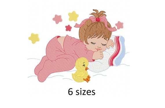 Baby Bear Girl embroidery design girls embroidery design machine embroidery pattern file instant download girl embroidery  baby design