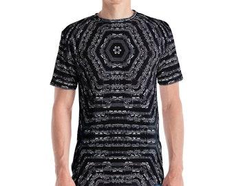 Akira Rabelais Fuga XXIV b Men's AOP T-shirt