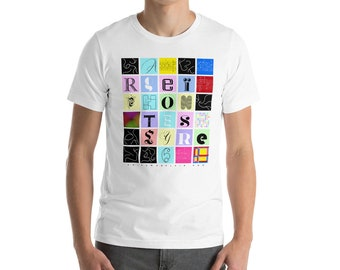 Argeïphontes Lyre 6 Short-Sleeve Unisex T-Shirt