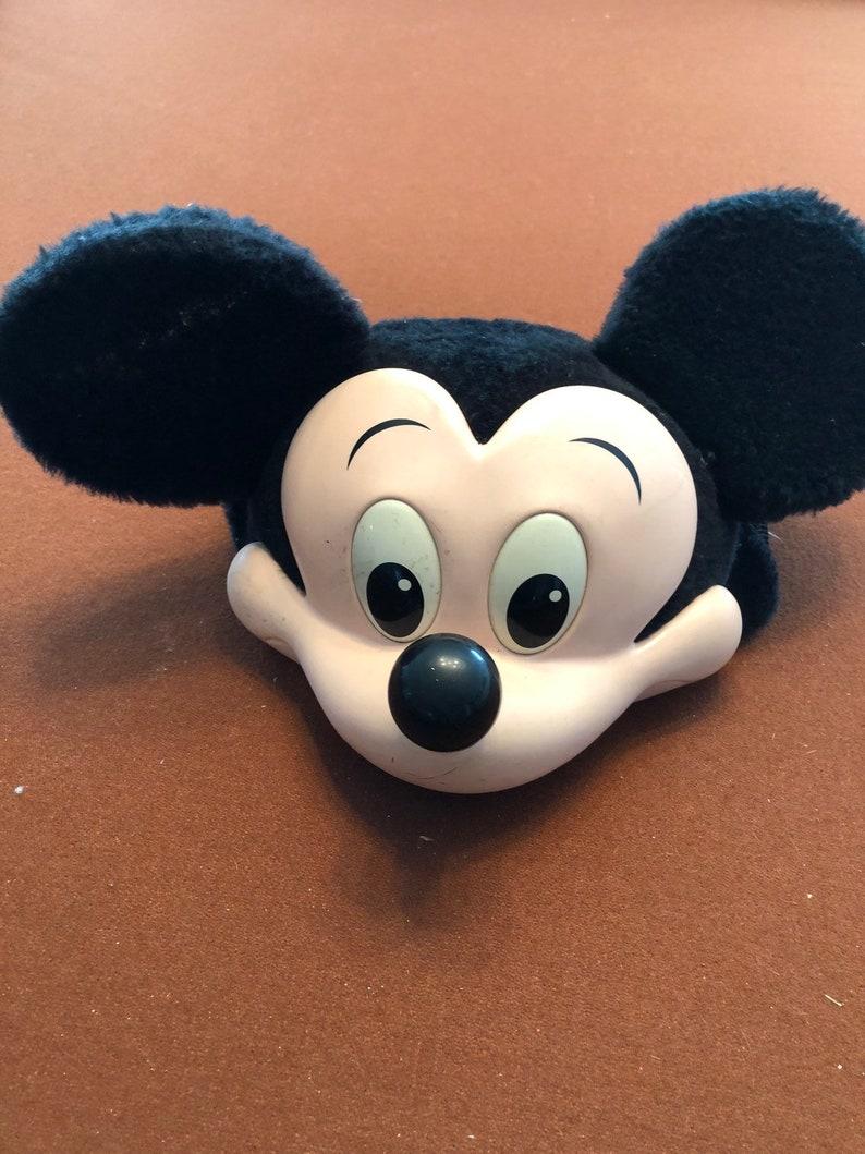 Vintage Disney Mickey Mouse Cap Plastic Hat