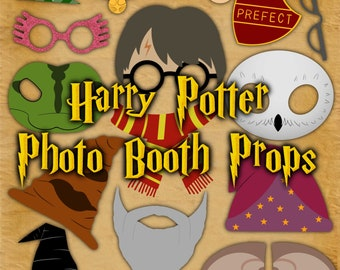 Harry Potter Inspired Photo Booth Props 17 pages