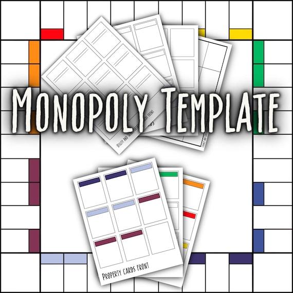Netflix Monopoly Besitzrechtkarten Vorlage 2