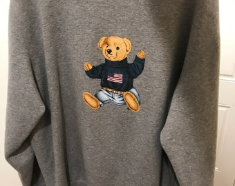 Vintage Ralph Lauren Polo Bear Sweat feeb732a2b0