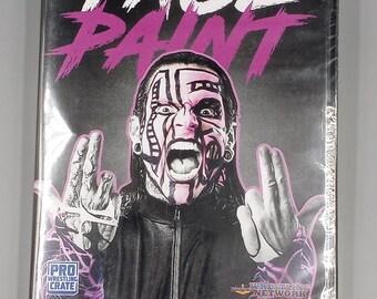 Pro Wrestling Crate Presents Face paint   Pro Wrestling DVD   Jeff Hardy, Crazy Steve, Kevin Sullivan, Kamala