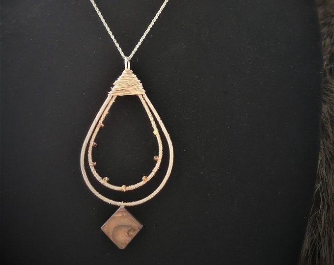 MYSTICA copper necklace