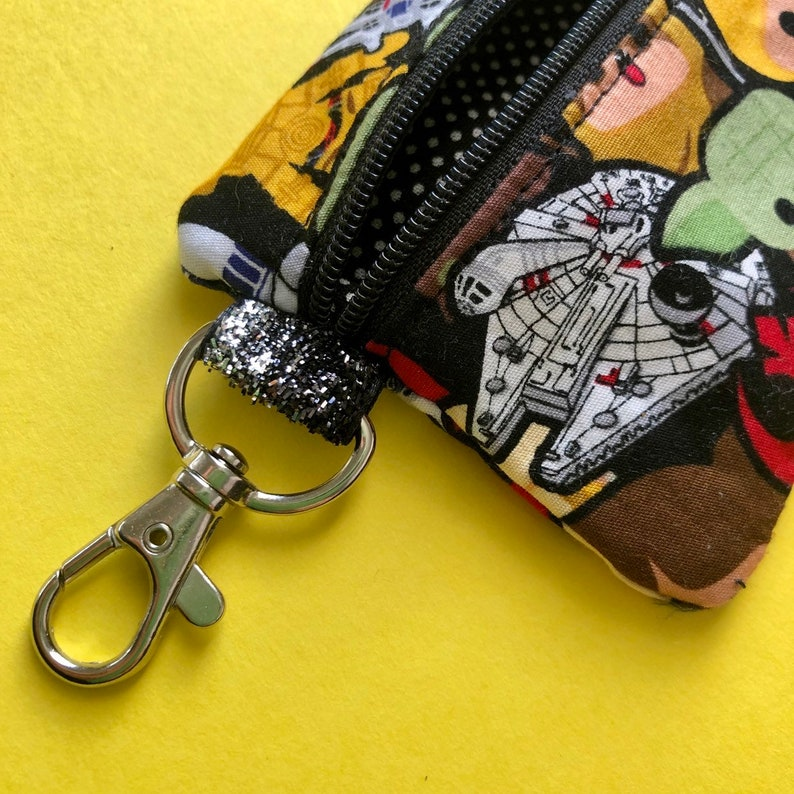 Coin Purse Period kit Keyring Lip Balm Case Star Wars Zipper Pouch Card Holder