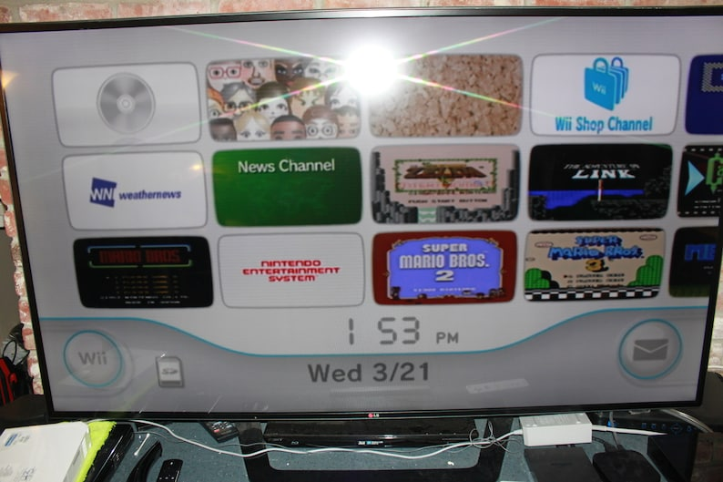 Nintendo Wii, Black, 36 Games, Console, Stand, controller, W/rumble Pack,  Classic Controller, Non-Chuk, Power Pack, AV Cable, Steering Wheel