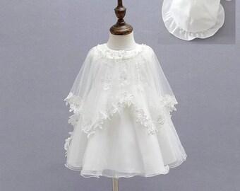 Chistening- birthday dresses- flower girl dresses -pageant dreses-little bride dresses-princess dresses