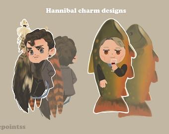 Hannibal charm set