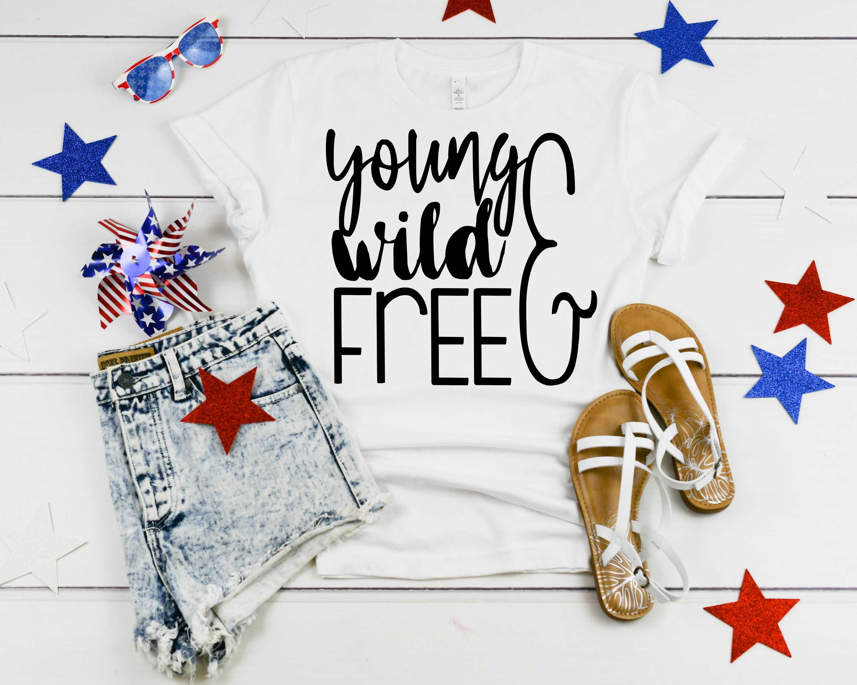 Young Wild Free Svg Etsy