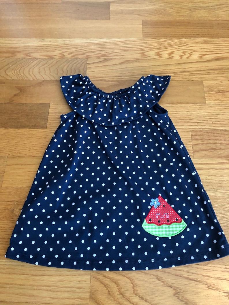 c7ce64b2f5c6 Sundress....Store bought but appliqué embellished...Girls 2T | Etsy