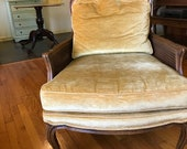 Pair of Knapp and Tubbs (Baker) Carved Arm Chair