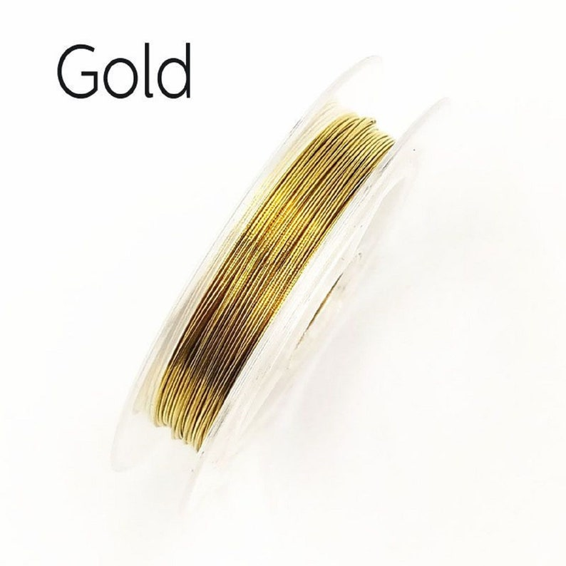 0.3mm 10m String Multicolor Wire Beading DIY 1 Roll Wire Copper Fashion Jewelry Making Accessories Cord Free Shipping