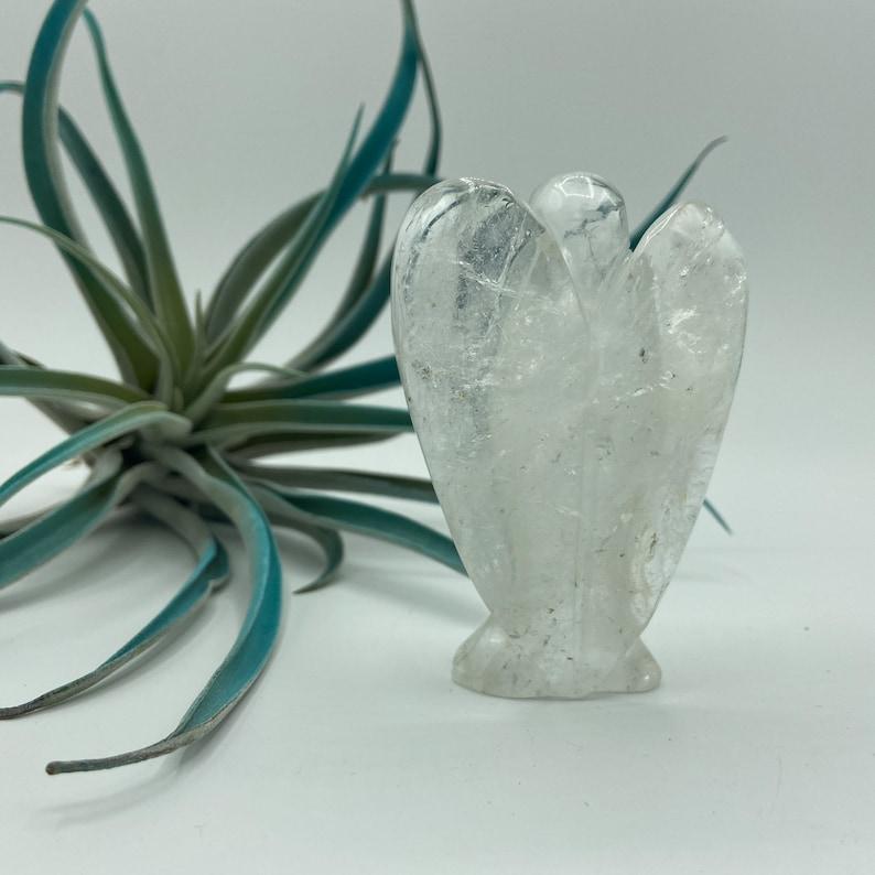 Polished Crystal Gemstone Angel Amazonite 1.25 Mini Amazonite Hand Carved Crystal Gemstone Guardian Angel