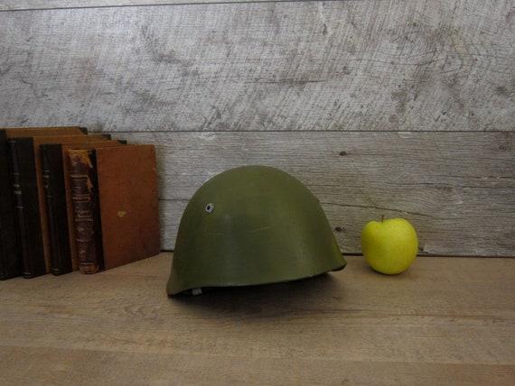 Military helmet, Soviet military helmet, Vintage U