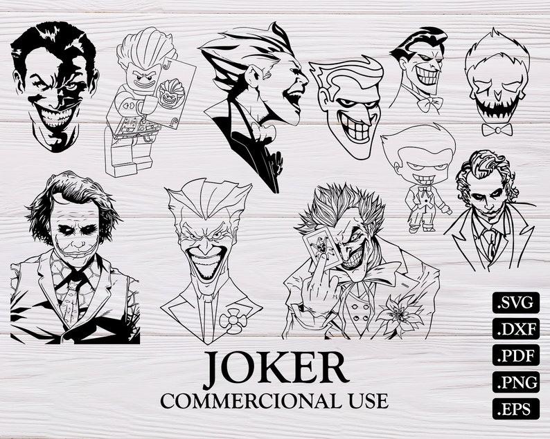 Joker Svg Joker Batman Svg Suicide Squad Svg Joker Etsy