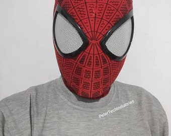 mcu spiderman far from home faceshell lenses homecoming faceshell spiderman mask Normal lenses