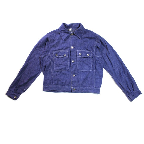 Vintage European Denim Workwear Workjacket