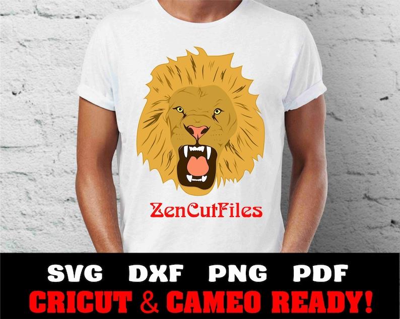 Lion Svg Lion Head Svg Lion Clip Art Lion Print Lion Etsy