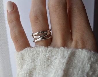 Intertwined Rings Etsy