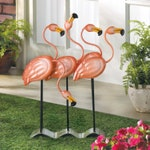 Flock O' Flamingos Flamingo Decor Garden Wedding