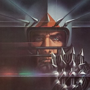 RoboCop-A Rare Original Release Vintage French Movie poster for Paul Verhoeven/'s 1980s Futuristic Sci Fi Satire with Peter Weller as Murphy