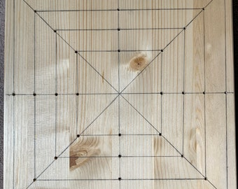 Handmade 10 inch blocking board made to order.