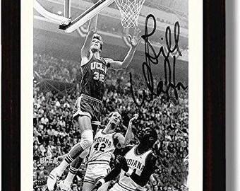 2b6454cbe91 Framed Bill Walton Framed Autograph Replica Print - UCLA Bruins 8x10 Print