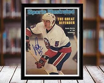 6b11eef8fd5 Denis Potvin Sports Illustrated Autograph Replica Print - New York Islanders  - 4/16/79 - Desktop