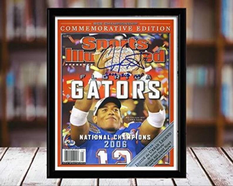 Chris Leak Sports Illustrated Autograph Replica Print Championship Commemorative Florida