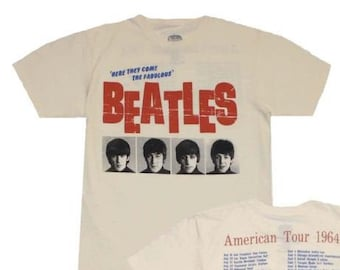 Baby Bib Personalized Graphic Design I Listen to the Beatles Soft Cotton Unisex