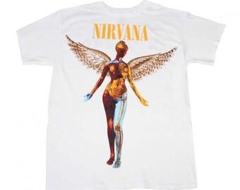 31c037a2 NIRVANA In Utero White T-Shirt
