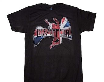 90bb87c1 LED ZEPPELIN Icarus Flag T-Shirt