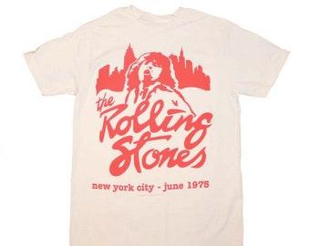 3e0bad68e ROLLING STONES Mich June 1975 T-Shirt