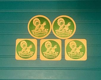 4 Sanwald Weizen Beer Coasters Germany w free ship