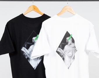 Maglietta streetwear / T-shirt unisex in Jersey di cotone alta qualità con stampe