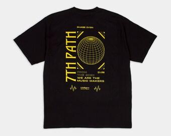 Maglietta streetwear / T-shirt unisex in cotone di alta qualità con logo stampato