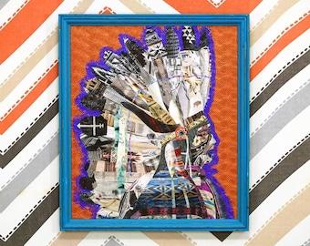 Pendleton Print Collage
