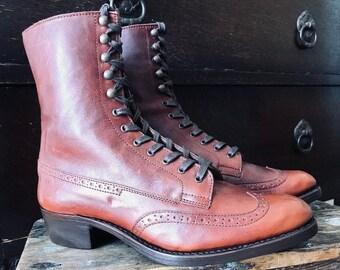 Wingtip brogue Ladies Boots