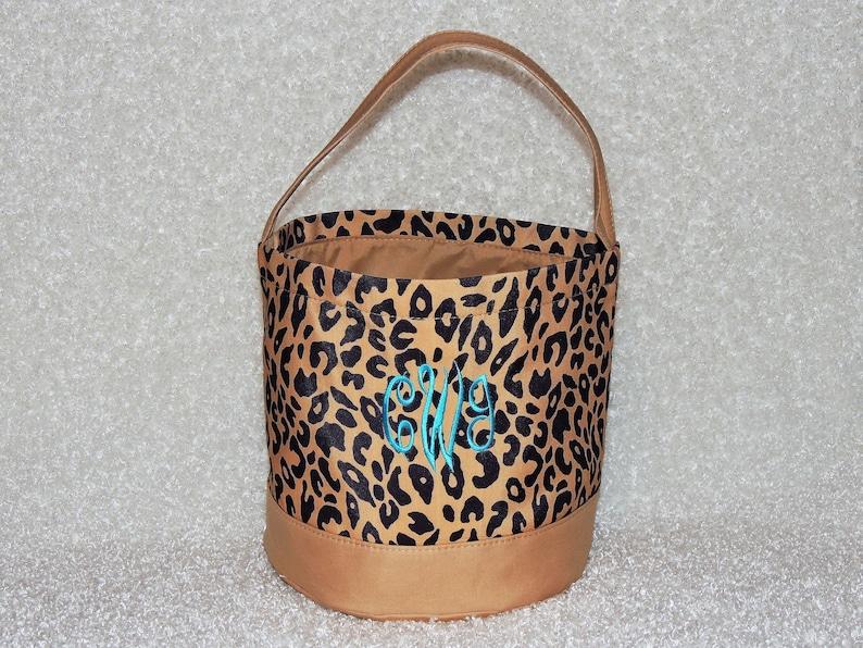 Leopard EASTER Bucket Free Shipping Cheetah print