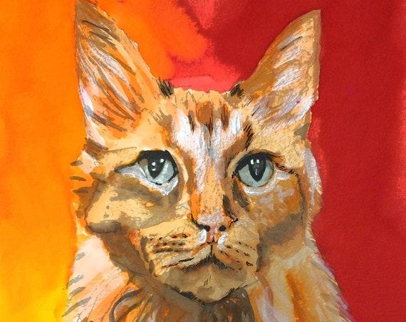Personalized Gift, Custom Pet Portrait, Pet Loss Gift, Pet Portrait Painting, Pet Portrait Custom, pet Bereavement Dog Sketch, pet Loss Gift