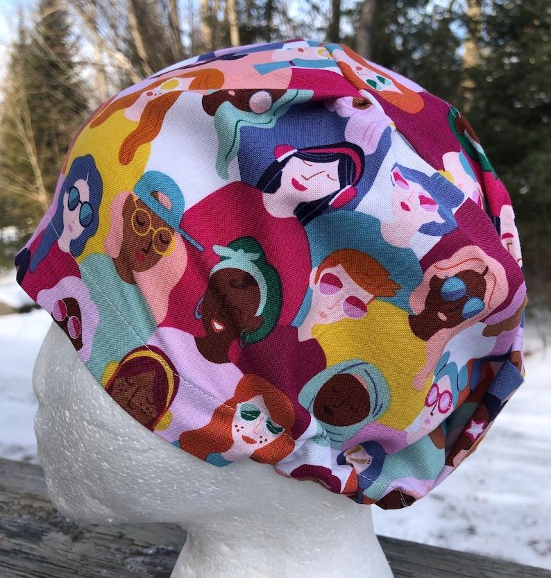 Surgical cap Girl Power Scrub hat