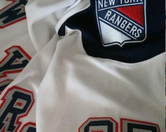 Throwback  27 McDonagh New York Rangers Vintage handmade jersey  NEW  Size L 69f56860f