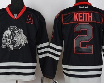 promo code fac9f 84435 Blackhawks jersey | Etsy