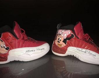 Disney inspired custom Jordans dd8791a1a