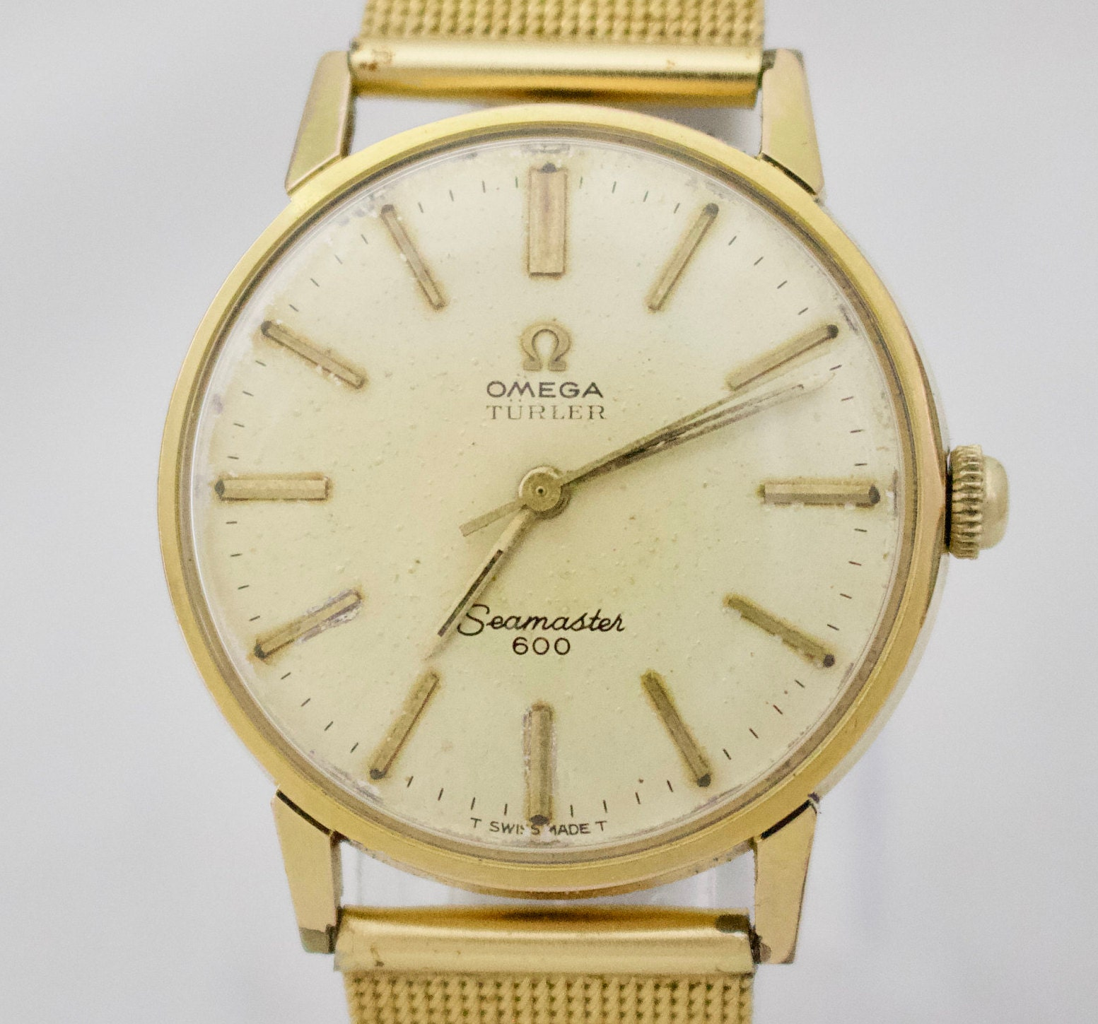 1960s Vintage Omega Seamaster 600 Mens Watch cal. Ω 601